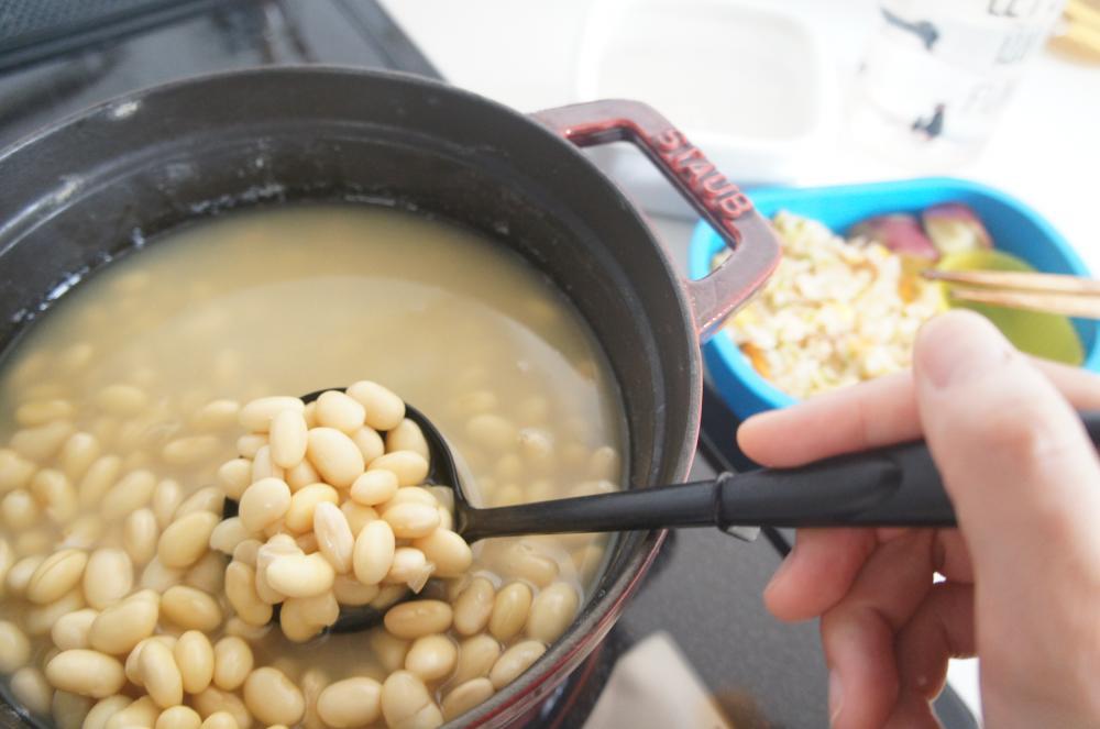 あると便利!乾燥大豆の戻し方&冷凍保存法