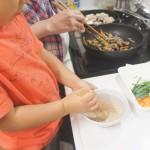 子どもと楽しむ料理の「ひと手間」