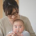 離乳食はじめました!<次男0歳5ヶ月>