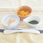 おだし離乳食|小松菜のおだし煮(離乳食初期~)